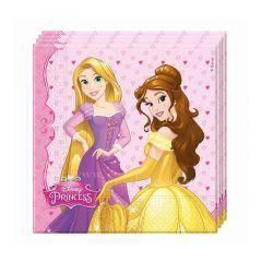 Паперові серветки Disney Princess / Принцеси Дісней  (20 шт), 86679