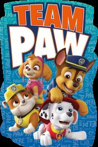 """М'який рушник з мікрофібри """"Paw Patrol"""" (80х120см), PAW16523"""