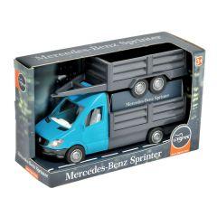 """Автомобіль """"Mercedes-Benz Sprinter"""" бортовий з причіпом (ціан), Tigres 39668"""
