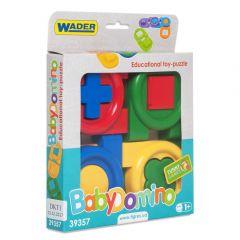 """Іграшка-пазл """"Дитяче доміно"""" в коробці, Tigres 39357"""