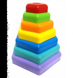 """""""Пірамідка - веселка"""" в коробці, Tigres 39363"""