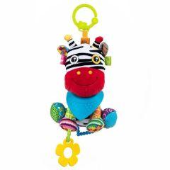 """М'яка іграшка з гризунцем """"Ослик ІА"""" серія """"Активне життя"""" Balibazoo 86524"""