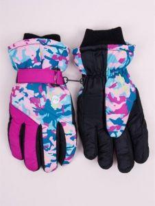 Теплі рукавиці (рожеві) YoClub RN-110