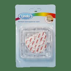 Захисні накладки на кути, прозорі (4 шт.), Lindo РК 949
