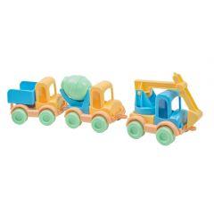 """Набір машинок """"Kid Cars"""" 3 шт. ELFIKI 39738"""