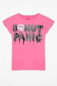 Трикотажна футболка для дівчинки, Reporter 203-0440G-09-610-1