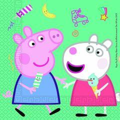 Паперові серветки PEPPA PIG / Свинка Пеппа  (20 шт), 91034