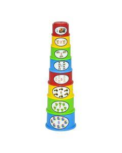 """Розвиваюча іграшка"""" Пірамідка"""" 8 ел.,  Tigres 39752"""