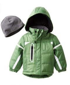 Демисезонна куртка для хлопчика + флісова шапка