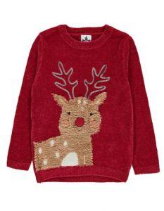 Праздничный свитер для ребенка
