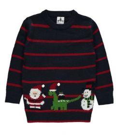 Новогодний свитер для ребенка