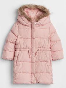 Подовжена куртка для дівчинки від GAP