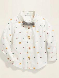 Рубашка с бабочкой для мальчика