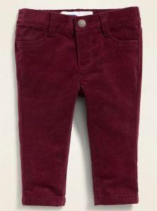 Вельветові штанята для дівчинки