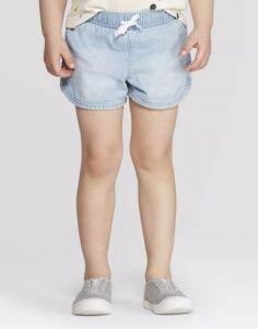 Літні шортики для дівчинки
