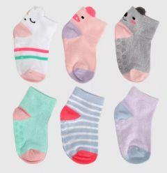 Набір шкарпеток (6 пар) для дівчинки