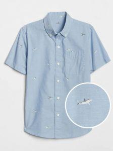 Коттоновая рубашка для мальчика