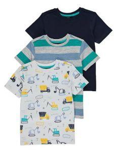 Набор футболок для мальчика (3 шт.)