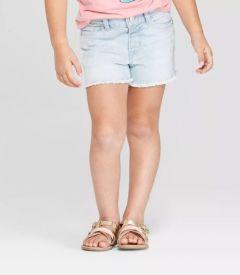 Стильні джинсові шорти для дівчинки