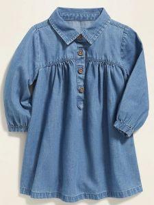 Джинсове плаття для дівчинки від OldNavy