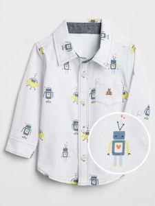 Сорочка з цупкого бавовняного матеріалу