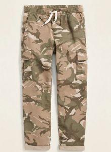 Коттоновые штаны-карго для мальчика
