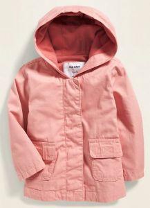 Коттонова куртка для дівчинки