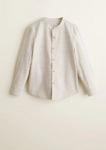 Сорочка з коміром мао для хлопчика