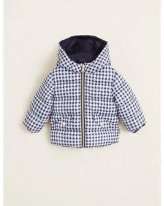 Двостороння курточка для дівчинки