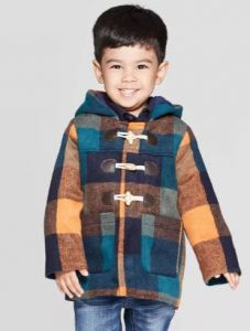 Оригінальне пальто для хлопчика