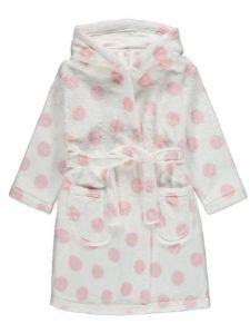 Плюшевый халат с капюшоном для ребенка