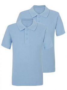 Набір футболок-поло (голубі) 2шт. від George