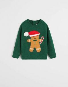 Новорічний светр для хлопчика