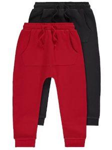 Набір штанів з флісовою байкою всередині (2 шт.)