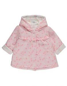 Двостороння трикотажна куртка с синтепоновим наповнювачем для дівчинки