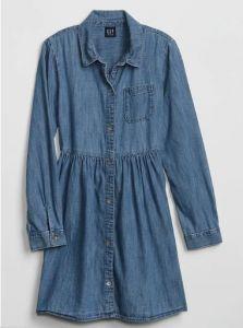 Джинсове плаття для дівчинки