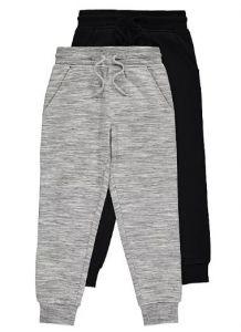 Спортивні штанята з флісовою байкою 1 шт. (чорні)