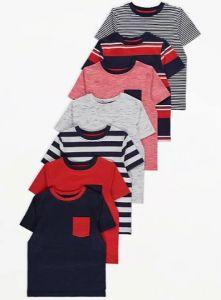 Набір футболок для хлопчика (7 шт.)