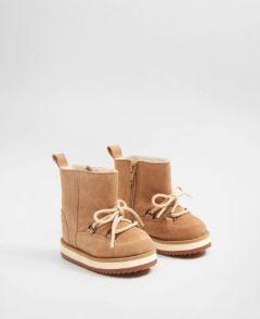 Замшевые ботинки для ребенка