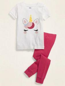 Трикотажна піжама для дівчинки