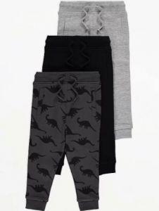 Спортивні штани для хлопчика від George 1 шт(чорні)