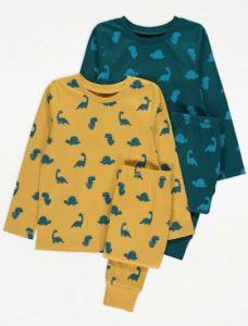 Трикотажна піжама для хлопчика 1шт. (жовта)