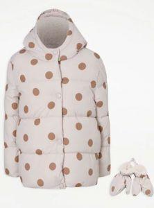 Тепла куртка для дівчинки від George