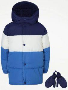 Куртка з флісовою підкладкою та силіконовим наповнювачем від George