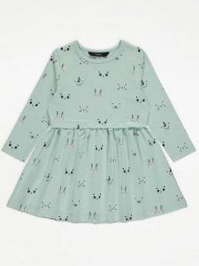 Трикотажне плаття для дівчинки від George