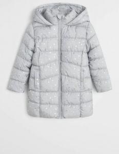 Подовжена куртка на флісі для дівчинки