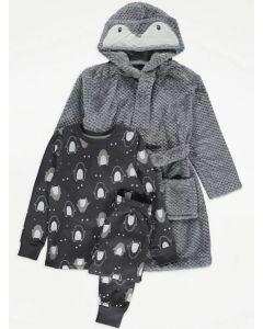 Комплект для дитини (плюшевий халат та піжама)