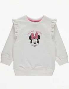 """Світшот з флісовою байкою всередині для дівчинки """"Minnie Mouse"""""""