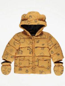 Зимова куртка з флісовою підкладкою для малюка