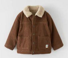Двостороння куртка із штучної овчини